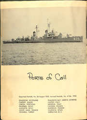 Page 6, 1953 Edition, Charles P Cecil (DDR 835) - Naval Cruise Book online yearbook collection