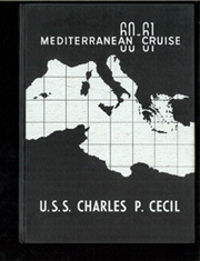 1961 Edition, Charles P Cecil (DDR 835) - Naval Cruise Book