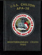Page 1, 1960 Edition, Chilton (APA 38) - Naval Cruise Book online yearbook collection
