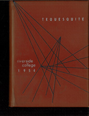 1954 Edition, Riverside College - Tequesquite Yearbook (Riverside, CA)