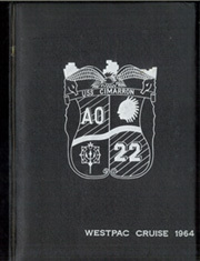 Page 1, 1964 Edition, Cimarron (AO 22 AO 177) - Naval Cruise Book online yearbook collection