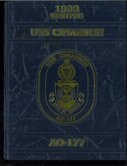 Page 1, 1990 Edition, Cimarron (AO 22 AO 177) - Naval Cruise Book online yearbook collection