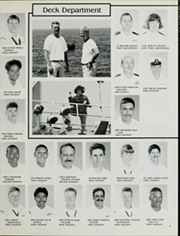 Page 13, 1990 Edition, Cimarron (AO 22 AO 177) - Naval Cruise Book online yearbook collection
