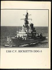 Page 5, 1988 Edition, Claude V Ricketts (DDG 5) - Naval Cruise Book online yearbook collection