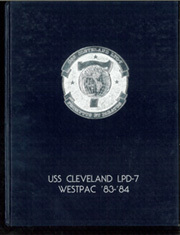Page 1, 1984 Edition, Cleveland (LPD 7 CL 55) - Naval Cruise Book online yearbook collection