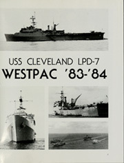 Page 5, 1984 Edition, Cleveland (LPD 7 CL 55) - Naval Cruise Book online yearbook collection