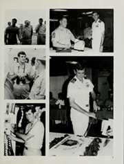 Page 9, 1984 Edition, Cleveland (LPD 7 CL 55) - Naval Cruise Book online yearbook collection