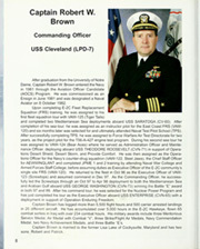 Page 14, 2003 Edition, Cleveland (LPD 7 CL 55) - Naval Cruise Book online yearbook collection