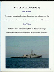 Page 9, 2003 Edition, Cleveland (LPD 7 CL 55) - Naval Cruise Book online yearbook collection