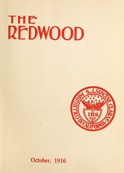 Page 5, 1916 Edition, University of Santa Clara - Redwood Yearbook (Santa Clara, CA) online yearbook collection