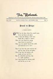 Page 9, 1916 Edition, University of Santa Clara - Redwood Yearbook (Santa Clara, CA) online yearbook collection