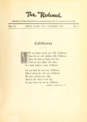 Page 7, 1920 Edition, University of Santa Clara - Redwood Yearbook (Santa Clara, CA) online yearbook collection