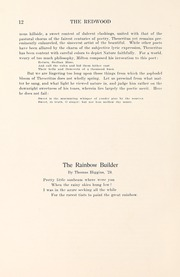 Page 16, 1923 Edition, University of Santa Clara - Redwood Yearbook (Santa Clara, CA) online yearbook collection