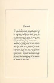 Page 7, 1923 Edition, University of Santa Clara - Redwood Yearbook (Santa Clara, CA) online yearbook collection