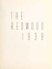 Page 7, 1938 Edition, University of Santa Clara - Redwood Yearbook (Santa Clara, CA) online yearbook collection