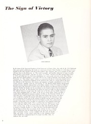 Page 12, 1954 Edition, University of Santa Clara - Redwood Yearbook (Santa Clara, CA) online yearbook collection