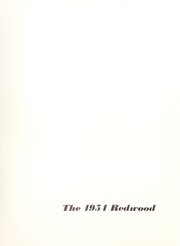 Page 5, 1954 Edition, University of Santa Clara - Redwood Yearbook (Santa Clara, CA) online yearbook collection