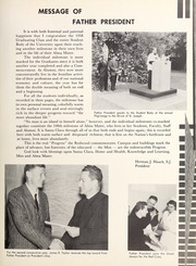 Page 15, 1958 Edition, University of Santa Clara - Redwood Yearbook (Santa Clara, CA) online yearbook collection