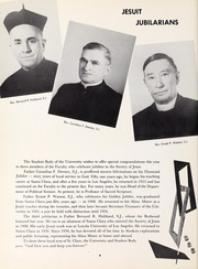 Page 8, 1958 Edition, University of Santa Clara - Redwood Yearbook (Santa Clara, CA) online yearbook collection