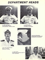 Page 16, 1973 Edition, Cochrane (DDG 21) - Naval Cruise Book online yearbook collection