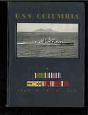 Page 1, 1945 Edition, USS Columbia - Naval Cruise Book online yearbook collection