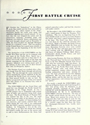 Page 13, 1945 Edition, USS Columbia - Naval Cruise Book online yearbook collection