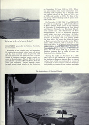 Page 17, 1945 Edition, USS Columbia - Naval Cruise Book online yearbook collection