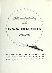 Page 5, 1945 Edition, USS Columbia - Naval Cruise Book online yearbook collection