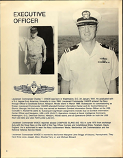Page 10, 1978 Edition, Compass Island (AG 153) - Naval Cruise Book online yearbook collection
