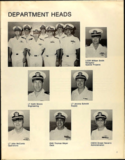 Page 11, 1978 Edition, Compass Island (AG 153) - Naval Cruise Book online yearbook collection