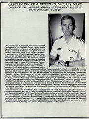 Page 10, 1991 Edition, Comfort (T AH 20) - Naval Cruise Book online yearbook collection