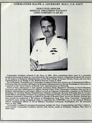 Page 14, 1991 Edition, Comfort (T AH 20) - Naval Cruise Book online yearbook collection