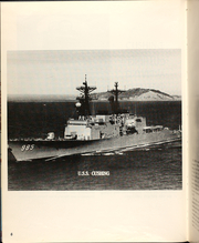 Page 10, 1981 Edition, Cushing (DD 985) - Naval Cruise Book online yearbook collection