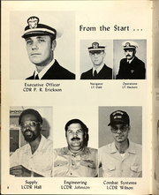 Page 12, 1981 Edition, Cushing (DD 985) - Naval Cruise Book online yearbook collection
