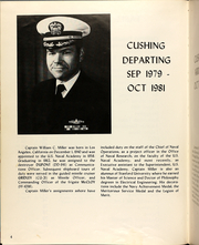 Page 8, 1981 Edition, Cushing (DD 985) - Naval Cruise Book online yearbook collection