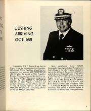 Page 9, 1981 Edition, Cushing (DD 985) - Naval Cruise Book online yearbook collection