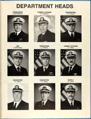 Page 11, 1987 Edition, Cushing (DD 985) - Naval Cruise Book online yearbook collection