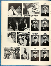 Page 12, 1987 Edition, Cushing (DD 985) - Naval Cruise Book online yearbook collection