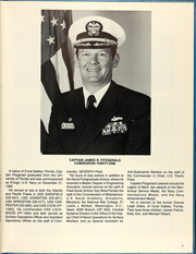 Page 9, 1987 Edition, Cushing (DD 985) - Naval Cruise Book online yearbook collection