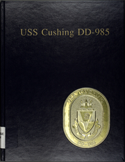 Page 1, 1990 Edition, Cushing (DD 985) - Naval Cruise Book online yearbook collection