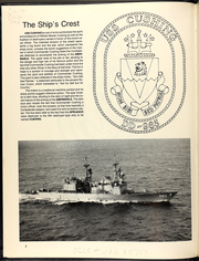 Page 6, 1990 Edition, Cushing (DD 985) - Naval Cruise Book online yearbook collection