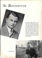 Page 11, 1940 Edition, Upper Iowa University - Peacock Yearbook (Fayette, IA) online yearbook collection