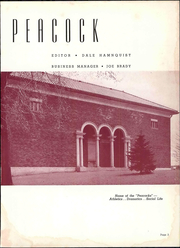 Page 9, 1940 Edition, Upper Iowa University - Peacock Yearbook (Fayette, IA) online yearbook collection