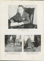 Page 12, 1947 Edition, Upper Iowa University - Peacock Yearbook (Fayette, IA) online yearbook collection