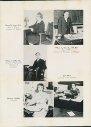 Page 13, 1947 Edition, Upper Iowa University - Peacock Yearbook (Fayette, IA) online yearbook collection