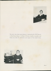 Page 9, 1947 Edition, Upper Iowa University - Peacock Yearbook (Fayette, IA) online yearbook collection