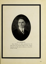 Page 15, 1919 Edition, Southwest Texas State Teachers College - Pedagog Yearbook (San Marcos, TX) online yearbook collection