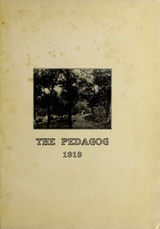Page 7, 1919 Edition, Southwest Texas State Teachers College - Pedagog Yearbook (San Marcos, TX) online yearbook collection