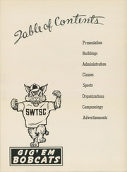 Page 7, 1951 Edition, Southwest Texas State Teachers College - Pedagog Yearbook (San Marcos, TX) online yearbook collection