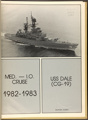 Page 3, 1983 Edition, Dale (CG 19) - Naval Cruise Book online yearbook collection